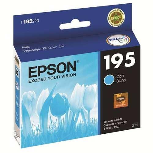 Epson T195220L Cartucho de Tinta 195 Cian
