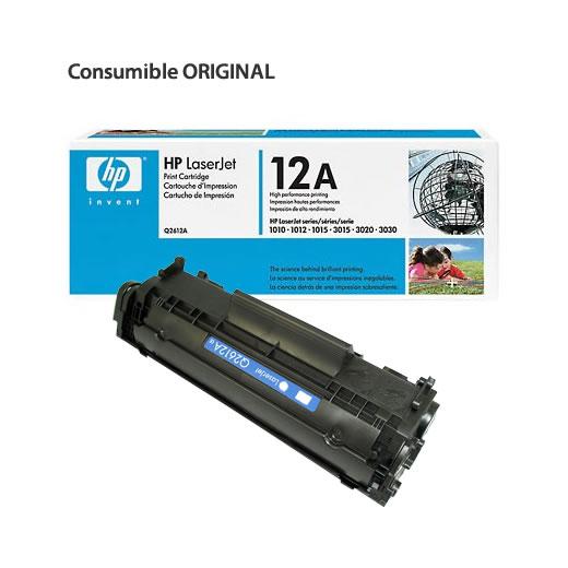 HP 12A Toner negro Laser